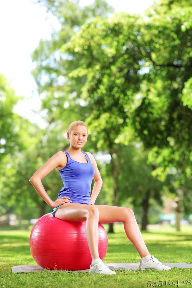 Pezziball für Fitnesstraining