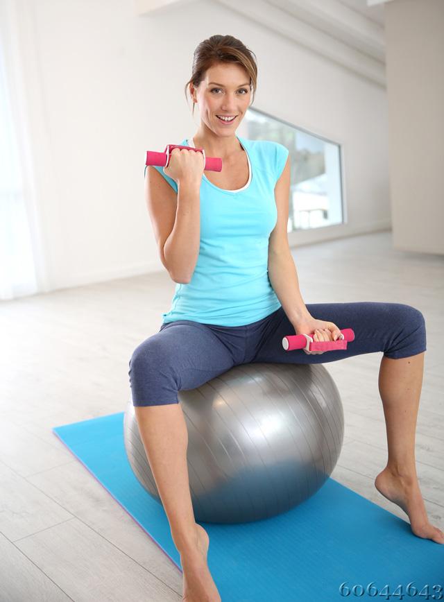Sitzball für Sport und Büro