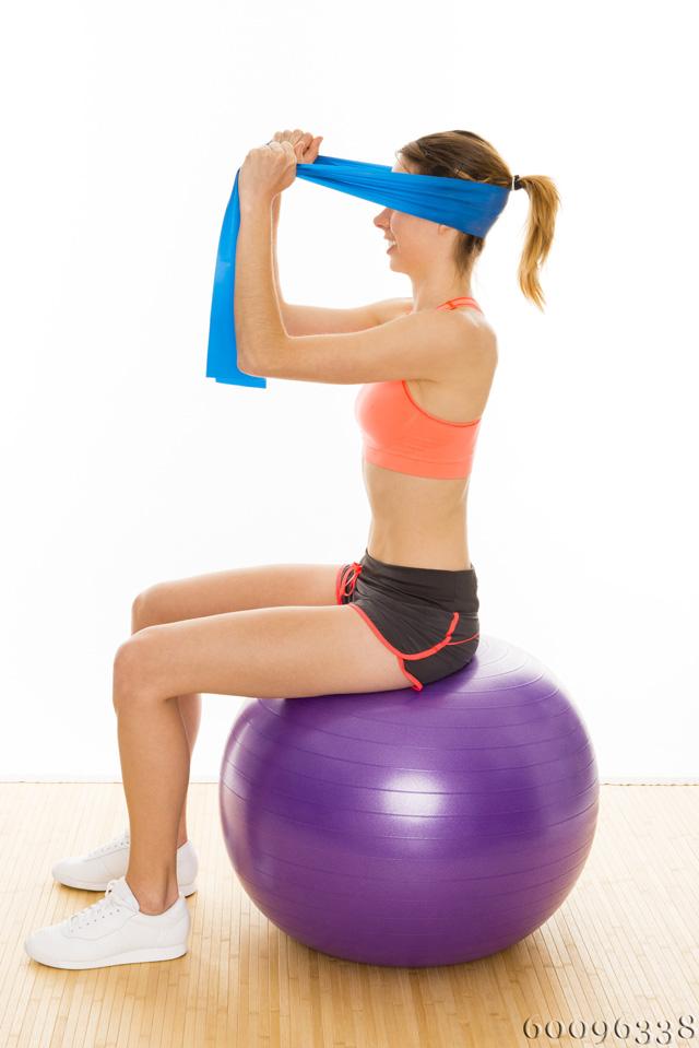 Gymnastikball ergonomisches sitzen